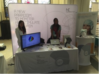 Neuroelectrics' booth
