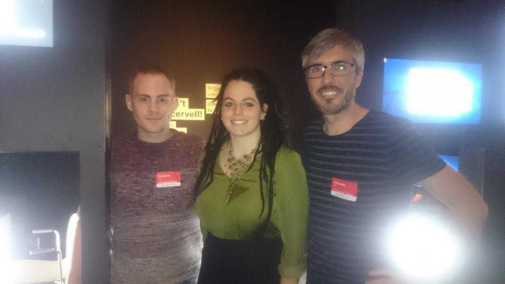 Javier Acedo, Marta Castellano and Jordi Prados -  By; Marta Castellano