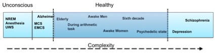 Figure 1. Intuitive description of the complexity spectrum