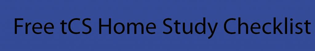tcs-home-study-checklist